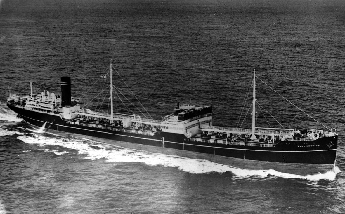 M/T «Anna Knudsen» (1931 – 1960). Haugesund Rederiforenings arkiv