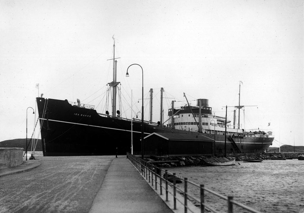 M/S «Ida Bakke». Utlånt av Haugesund Rederiforening.